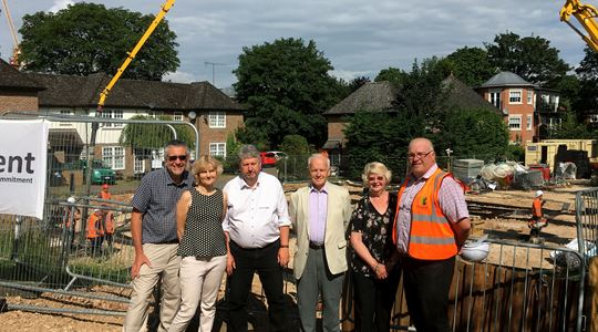 New community hub in Knebworth starts to take shape