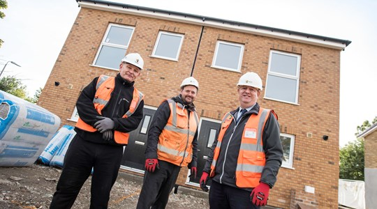 Tolent completes first modular housing project in Durham