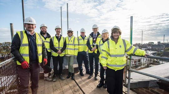 Tolent reach top of the tower on £4.5m Whitburn development