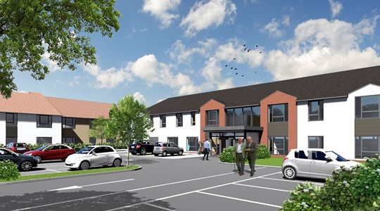 Tolent awarded £9.3m extra care development in Filey