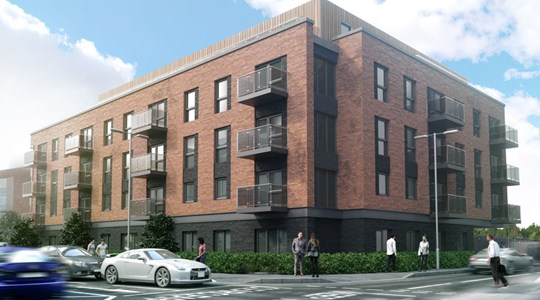 Tolent awarded £4.1m residential contract in York