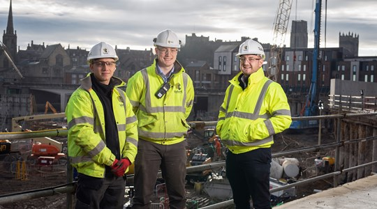 Apprentices construct careers with Tolent