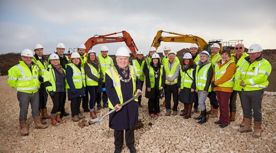Ceremony marks the start of new Filey Extra Care development