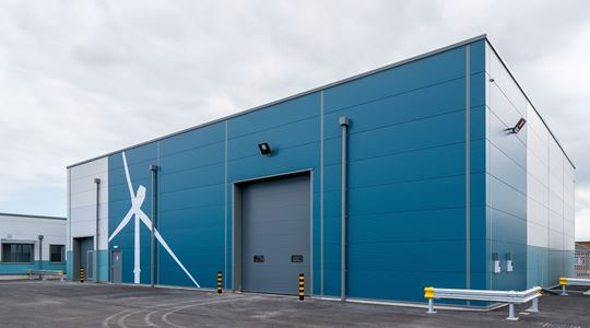 New £3.4m offshore wind farm base completes at Grimsby's Royal Dock