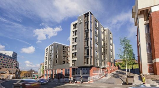 New student accommodation scheme will complete later this year