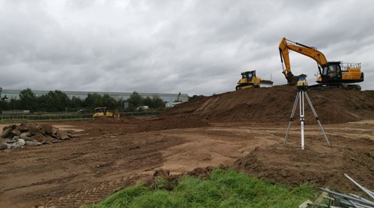 New £1.5m builders' merchants gets underway in Newark