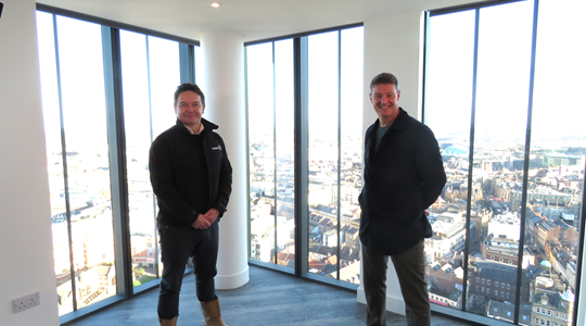 Tolent handover Newcastle's tallest tower