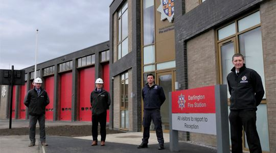 Crews move into new £3.2m fire station in Darlington