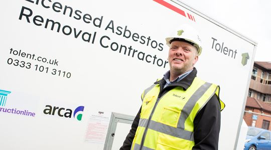 Tolent asbestos team win big with £7m contracts
